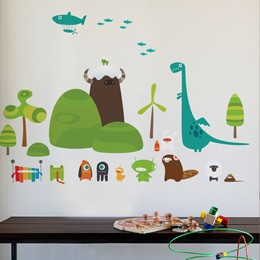 Fun Wall Decals - KidTrail Pick