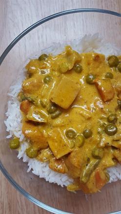 Vegetable Korma - KidTrail Recipe