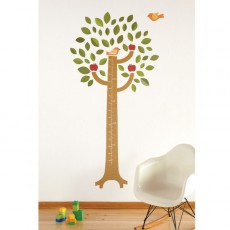 Fabric Growth Chart Wall Decal - KidTrail Cool Find