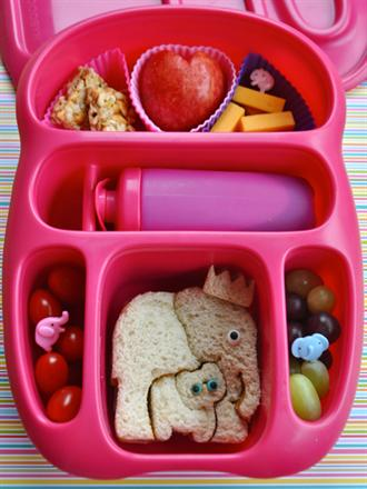 Bento Style Lunch Box - KidTrail Cool Find