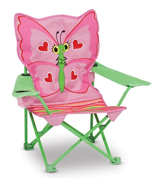 Cute and Sturdy Outdoor Chair - KidTrail Cool Find