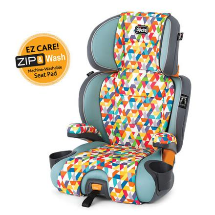 Washable Booster Car Seat - KidTrail Cool Find